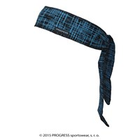 "CEL PRINT fully printed headband tie-back ""LINES"" design"