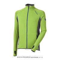 TOREZ II mens sports full zip jacket green/grey