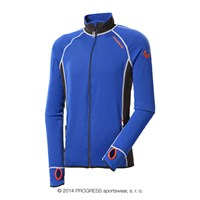TOREZ II mens sports full zip jacket blue/black