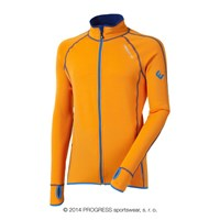 TOREZ II mens sports full zip jacket orange/blue sew