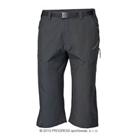CHADAR 3Q mens 3/4 trekking pants black