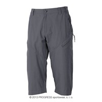 CHADAR 3Q mens 3/4 trekking pants grey