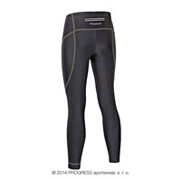 RAPTIM mens running tights black/yellow sew.