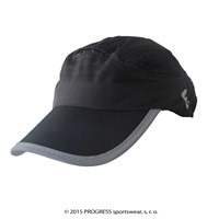 TRAINING CAP peak cap with mesh black