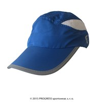 TRAINING CAP peak cap with mesh blue/white