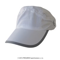 TRAINING CAP peak cap with mesh white