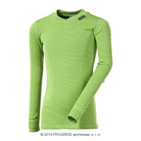 MS NDRD kids baselayer long sleeve T-shirt green