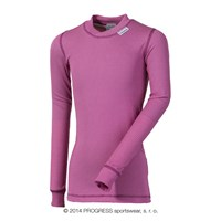 MS NDRD kids baselayer long sleeve T-shirt pink