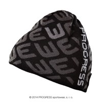 HUMP knitted beanie black/grey