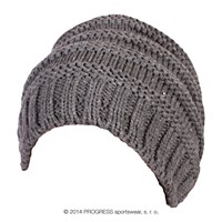 ALTA ladies knitted beanie grey