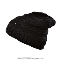 ALTA ladies knitted beanie black