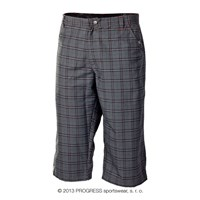 OS IMP 24HF  mens 3/4 pants black check