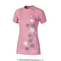 DF NKRZ PRINT ladies short sleeve T-shirt pink