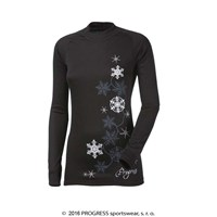 DF NDRZ PRINT ladies long sleeve T-shirt black