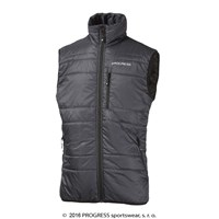 JOHNY mens padded vest anthracite
