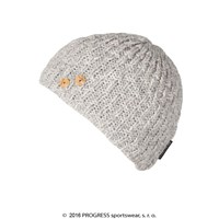 MADLA ladies knitted beanie Lt.grey melange
