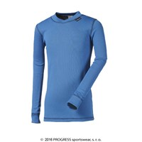 MS NDRD kids baselayer long sleeve T-shirt Md.blue