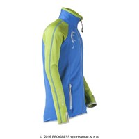 TOFFI KID full zip jacket blue/green