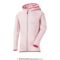 PANDA JUNIOR hooded full zip jacket Lt.pink