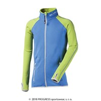 TOFFI JUNIOR full zip jacket blue/green