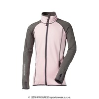 TOFFI JUNIOR full zip jacket pink/grey