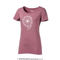 "SASA ladies bamboo T-shirt pink melange - ""blowball"""