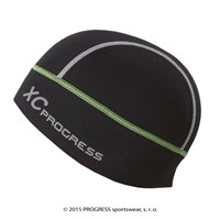 XC CEP sports beanie black/green-white sew.