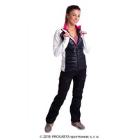 DINARA ladies full zip hybrid jacket