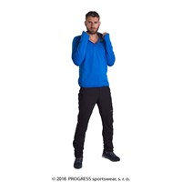 KAMIL mens zip neck pullover
