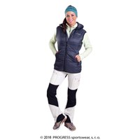 MIRI ladies hooded padded vest