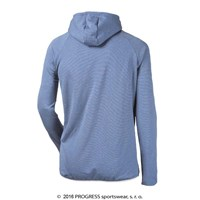 JUMPER mens hooded full zip jacket TS22