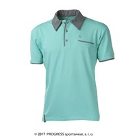 CHINOOK mens bamboo polo shirt Lt.green