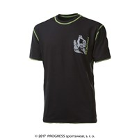 MASTER mens bamboo T-shirt black