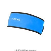 TS CES winter headband blue