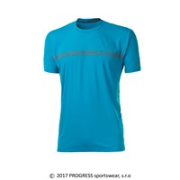 PANTER mens sports T-shirt turquoise