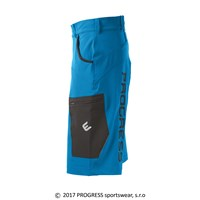 PHOENIX mens bike shorts blue/black