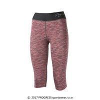 LUNGA 3Q ladies 3/4 leggings pink melange