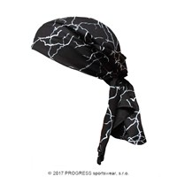 "SAT PRINT fully printed headscarf triangle ""SMOG"""