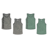 TRAILER mens sports singlet grey melange