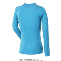 MS NDRD kids baselayer long sleeve T-shirt blue