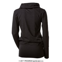 THALIA ladies bamboo pullover black