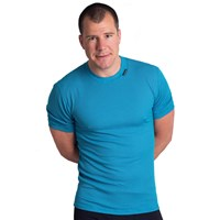MS NKR mens baselayer short sleeve T-shirt black