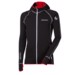 TS TOREZ HOODY mens sports full zip jacket black/red